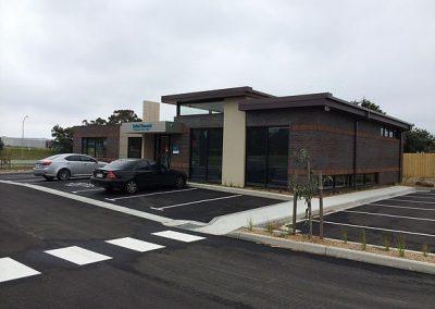 Commercial Building & carpark