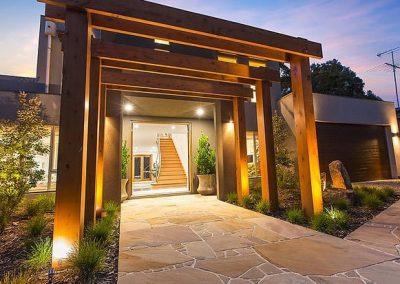Custom Home Entrance Mornington Peninsula